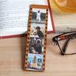 Lisa Angel Men's Personalised Photo Filmstrip Leather Bookmark