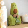 Lisa Angel Cuddly Jellycat Amuseable Avocado Soother