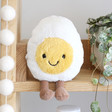 Lisa Angel Cute Cuddly Jellycat Amuseable Boiled Egg Soft Toy