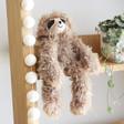 Lisa Angel Cuddly Jellycat Bonbon Sloth Soft Toy