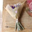Ladies' Personalised Crystal Dried Flower Bouquet