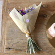 Friends Personalised Crystal Dried Flower Bouquet