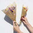 Lisa Angel Dried Flower Bouquet Sizes
