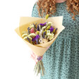 Lisa Angel Personalised Crystal Stone Dried Flower Posy Bouquet