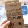 'Sleep' Gift Hamper Box Sleep Mask