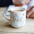 Men's Starry Nights 'Dad' Mug