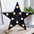 Ladies' Starry Nights Quote LED Light