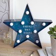 Lisa Angel Starry Nights Quote LED Light