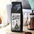 Lisa Angel with William Whistle High Mountain Ground Coffee
