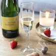 Lisa Angel Personalised Small Initials Prosecco Glass