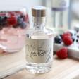 Lisa Angel Ladies' Personalised Birth Flower 10cl Bottle of Granite North Gin