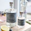 Lisa Angel Personalised Bottles of Granite North Gin
