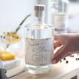 Ladies' Personalised Name 10cl Bottle of Granite North Gin