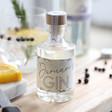 Lisa Angel Unisex Personalised Name 10cl Bottle of Granite North Gin