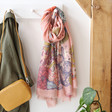 Lisa Angel with Ladies' Powder Countryside Animals Print Scarf