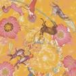 Lisa Angel with Ladies' Yellow Powder Festival Friends Print Scarf