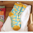 Lisa Angel with Powder Ladies' Lemon Ankle Socks