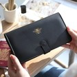 Lisa Angel Ladies' Bumblebee Travel Wallet in Black