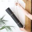 Lisa Angel Black Yoga Mat