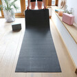 Lisa Angel 4mm Thick Black Yoga Mat