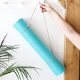 Lisa Angel Turquoise Yoga Mat