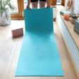 Lisa Angel 4mm Thick Turquoise Yoga Mat