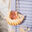 Lisa Angel Sass and Belle Cat Hanging Planter
