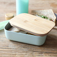 Lisa Angel Sass & Belle Mint Green Bamboo Lunch Box