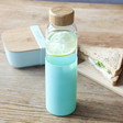 Lisa Angel Sass & Belle Mint Green Silicone Sleeve Water Bottle