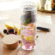 Teen's Sass & Belle Pressed Flowers Glass Water Bottle with Infuser