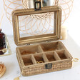 Lisa Angel Ladies' Sass & Belle Rattan Jewellery Box