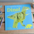 Lisa Angel Origami for Children: Dino! Book