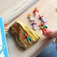Kids Guatemalan Worry Dolls in a Bag