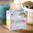Lisa Angel Tiny Rainbow Ornament with Gift Bag