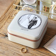 Lisa Angel Special Personalised 'Your Photo' Square Travel Jewellery Box