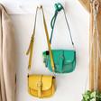 Lisa Angel Ladies' Personalised Vegan Leather Crossbody Handbag