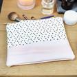 Lisa Angel Ladies' Pink and Polka Dot Wash Bag