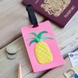 Lisa Angel Ladies' Pineapple Luggage Tag