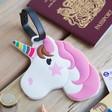 Lisa Angel Ladies' Unicorn Luggage Tag