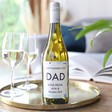 Lisa Angel Personalised Father's Day Bottle of Wairau Cove White Wine