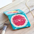 Fruity 'Squeeze The Day' Compact Mirror