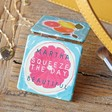 Lisa Angel Ladies' Personalised Fruity 'Squeeze The Day' Compact Mirror