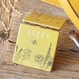 Lisa Angel Ladies' Personalised Help 'Save The Bees' Compact Mirror