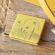 Ladies' Personalised Name Help 'Save The Bees' Compact Mirror