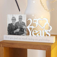 Lisa Angel Special Wooden '25 Years' Anniversary Photo Frame