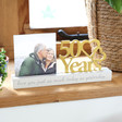 Lisa Angel Special Wooden '50 Years' Anniversary Photo Frame