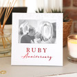 Lisa Angel Ruby Anniversary Photo Frame