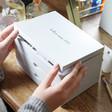 Lisa Angel Ladies' Personalised 'In Love Since' Jewellery Box with Drawers