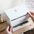 Lisa Angel Ladies' Personalised Lobsters Jewellery Box with Drawers