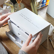 Lisa Angel Grey Personalised 'You Taught Me' Jewellery Box with Drawers